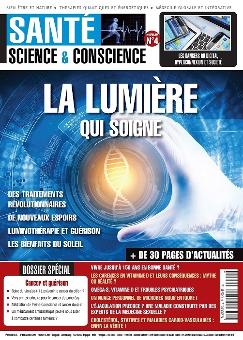 Sant science conscience 04 sciences la boutique - Magazine de la sante livres ...